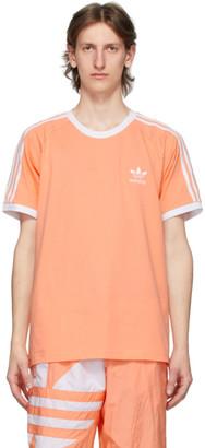 adidas Pink 3-Stripes T-Shirt