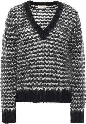 Simon Miller Darien Wool, Mohair And Silk-blend Sweater