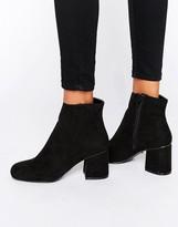 Oasis Block Heel Boots