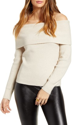 Leith Off the Shoulder Sweater