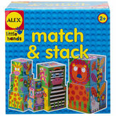 Alex Little Hands Match And Stack 10-pc. Interactive Toy