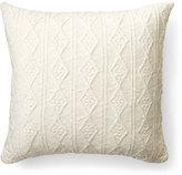 """Lauren Ralph Lauren Lakeview Knit Decorative Pillow, 20""""Sq."""