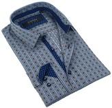 Coogi Pattern Tailor Fit Dress Shirt