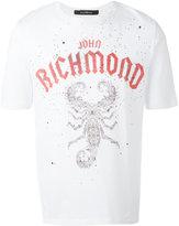 John Richmond logo print T-shirt - men - Cotton - S