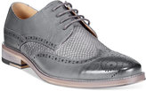 Bar III Striker Mixed Media Wingtip Oxfords, Only at Macy's