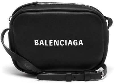 Balenciaga Everyday Xs Camera Bag - Womens - Black White