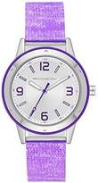 Skechers Women's Quartz Metal and Silicone Casual Watch