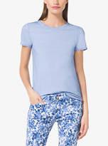 Michael Kors Cotton-Blend T-Shirt