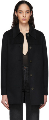Acne Studios Black Double Faced Overshirt