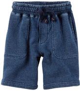 Carter's Indigo French Terry Shorts