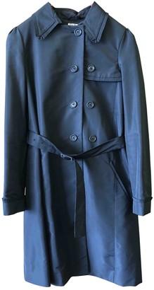 Miu Miu Black Trench Coat for Women