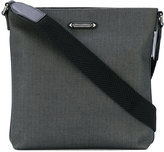 Ermenegildo Zegna herringbone messenger bag - men - Polyester - One Size