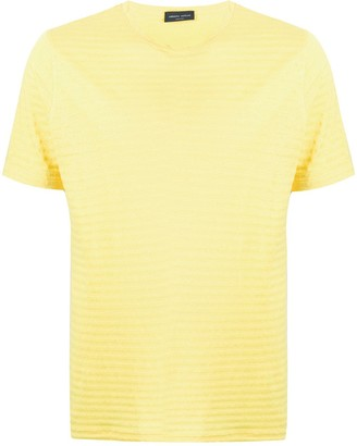 Roberto Collina striped relaxed-fit T-shirt