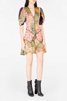 Roksanda Hirani Floral-Print Silk Dress