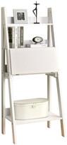 Monarch Ladder Bookcase With Drop-Down Desk