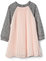 Gap Pleated chiffon raglan dress