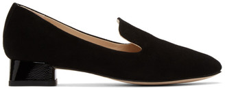 Repetto Black Suede Mathis Loafers