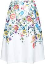 Yumi Botanical Jacquard Skirt