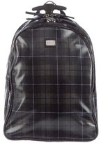 Dolce & Gabbana Kids' Plaid Nylon Trolley
