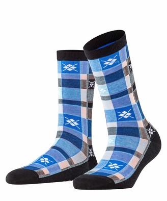 Burlington Women's Tartan Check Socks