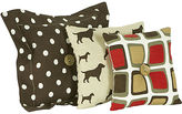 JCPenney Cotton Tale Houndstooth 3-pc. Pillow Set