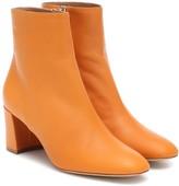 Mansur Gavriel Leather ankle boots