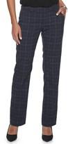 Apt. 9 Women's Torie Midrise Modern Fit Straight-Leg Dress Pants