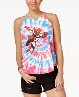 Marvel Juniors' Spider-Man Printed Graphic Tank Top