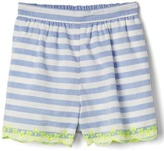 Gap Eyelet stripe shorts