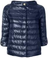 Herno quilted cropped jacket