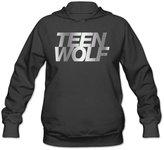 WLCXQCT Women's Teen Wolf Platinum Logo Hoodie