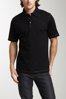 James Campbell Chev Stripe Polo