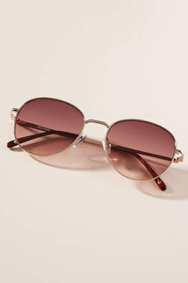 Anthropologie Palm Beach Round Sunglasses