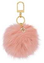Tory Burch Fur Pom-Pom Key Fob