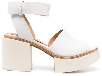 Paloma Barceló Leather Platform Sandals