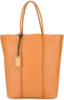 Tom Ford tubular detail tote bag - women - Calf Leather - One Size