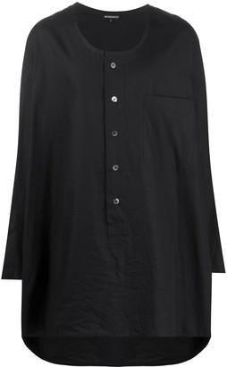 Ann Demeulemeester Oversized Henley Shirt