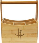 Houston Rockets Bamboo Utensil Caddy