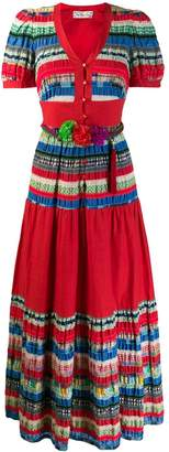 A.N.G.E.L.O. Vintage Cult 1970's Bolivian style patched dress