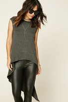 Forever 21 FOREVER 21+ Contemporary High-Low Tunic