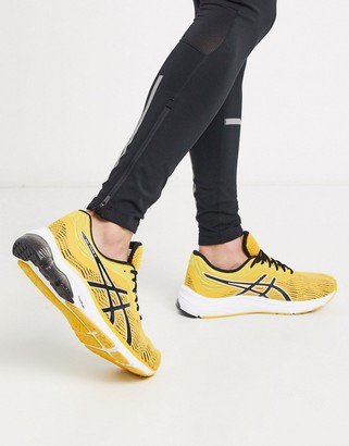 Asics Running gel pulse sneakers in orange