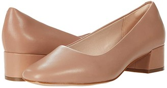 Clarks Sheer Court (Praline Leather) Women's Shoes