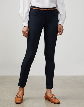 Lafayette 148 New York Petite Acclaimed Stretch Mercer Pant