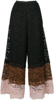 Antonio Marras lace cropped trousers - women - Cotton/Polyamide/Polyester/Viscose - S
