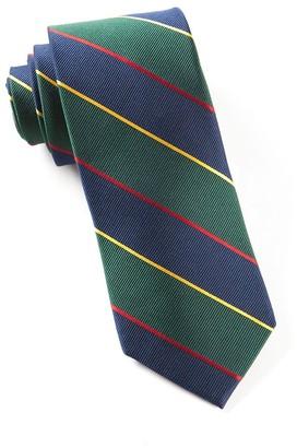 The Tie BarThe Tie Bar Navy Boarding Stripe Tie