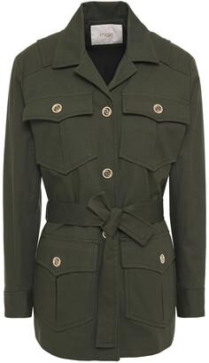 Maje Guesna Cotton-blend Gabardine Jacket