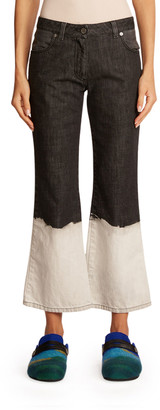 J.W.Anderson Dip-Dyed Flare Jeans