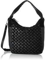 Liebeskind Berlin Bedford Suewea, Women's Handbag, Schwarz (Oil Black), 15 x 37 60 cm (wxhxd)