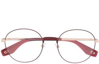Marc Jacobs Eyewear round frame glasses