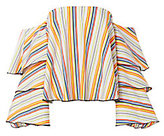 Caroline Constas Carmen Striped Off-The-Shoulder Top